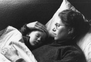 Baby Sam napping around 1999