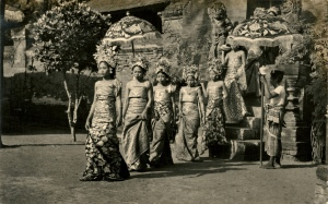 Balinese Ceremonial procession 1930