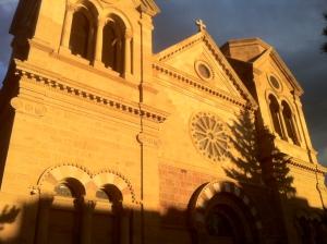 Saint Francis Cathedral Basilica Santa fe.