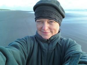 Meg Patterson Selfie at the Beach