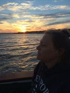 Meg Sailing in Rhode Island