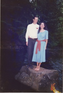 The rock we were married on in 1995.
