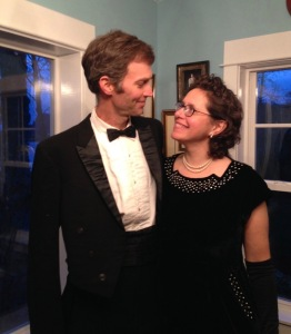 Joe and I dressed up in April, for the Birthday Party of a dear friend. 2015 was all largely about savoring my family, and doing emotional work.