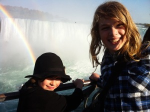 The boys at Niagara Falls 2010