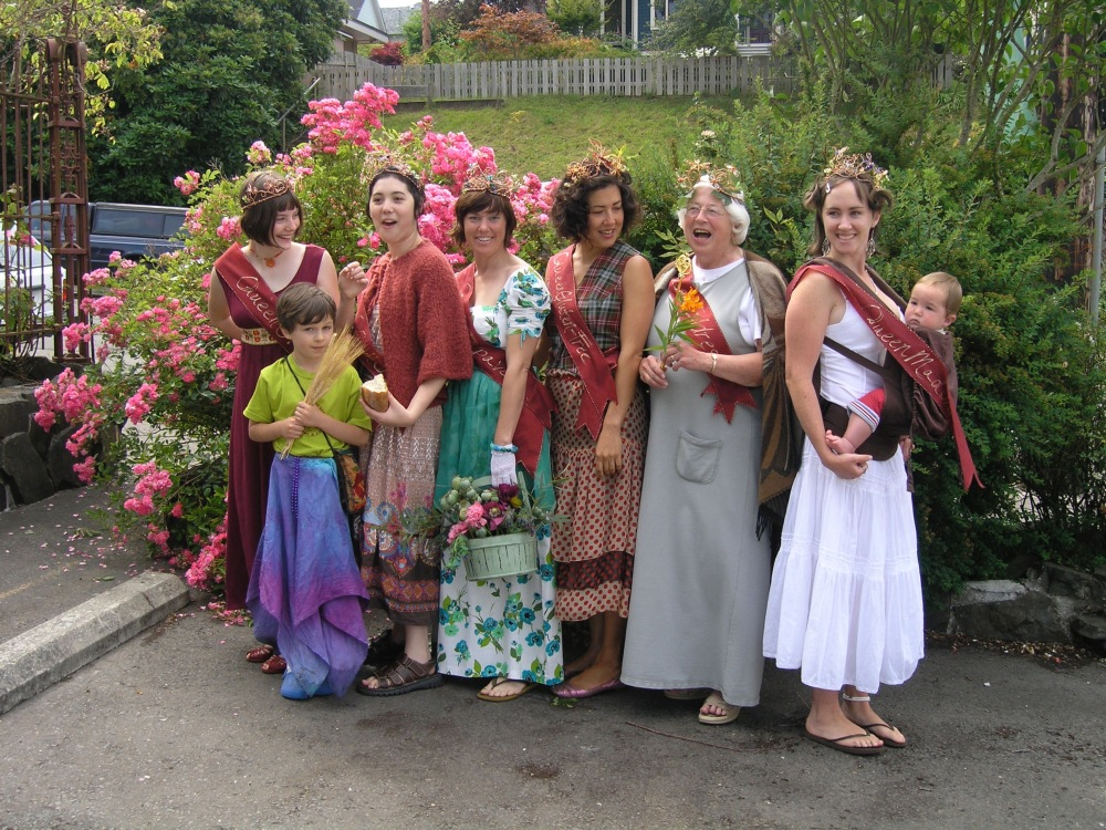 2009 Beauty Queen Court