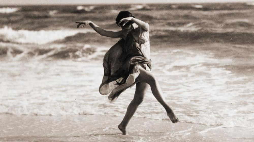 One of my greatest heroes, Isadora Duncan.