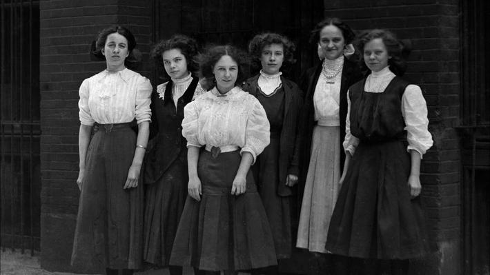 Young workers from the Shirtwaist Strike.