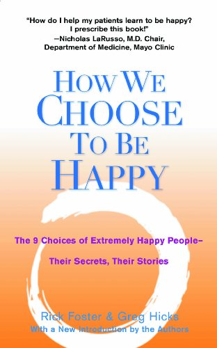 These books highlight how truly happy people make different choices than the rest of us. In Happiness & Health it shows how making these chices improves health outcomes.