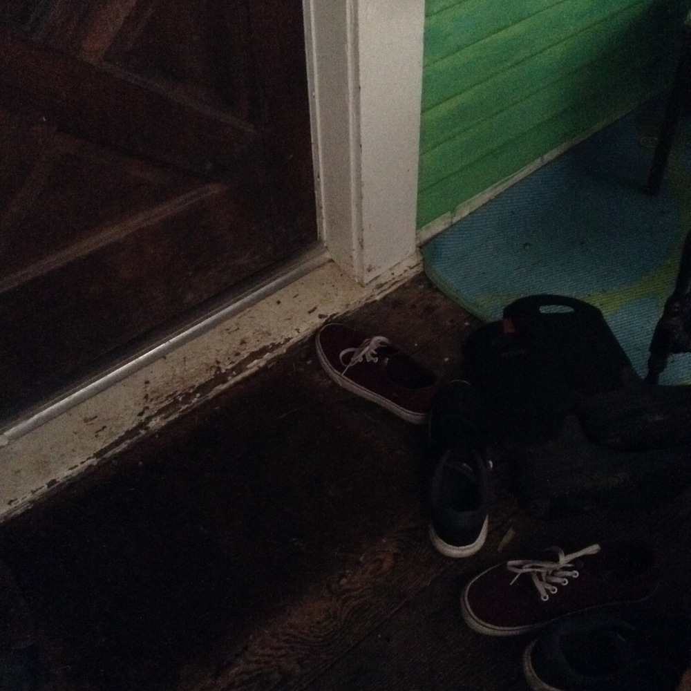 shoes at my front door